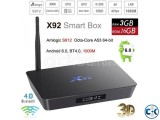 ANDROID 4K 3D TV BOX H96 4GB RAM 32GB ROM NEW