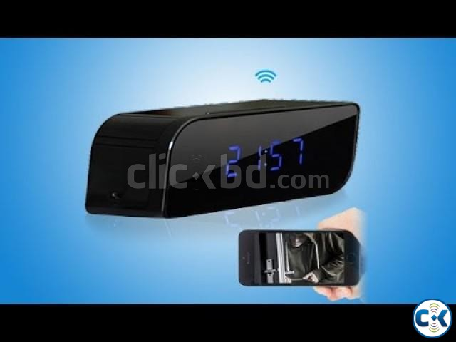 Wifi Digital Clock Camera FULL HD | ClickBD large image 0