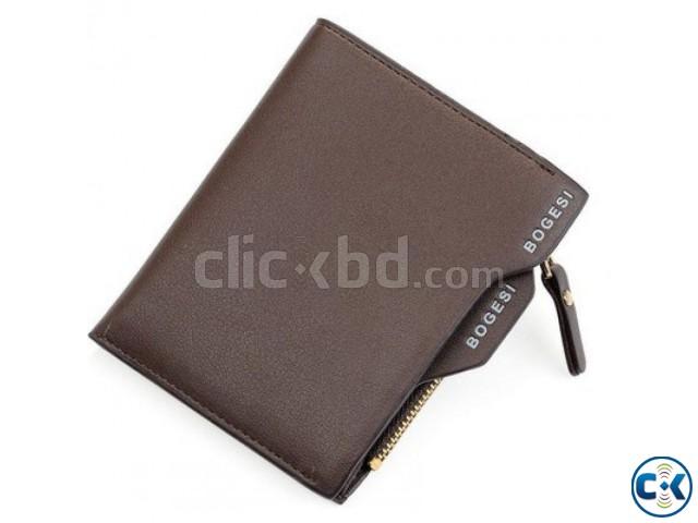 Bogesi Men s Wallet - Brown   ClickBD large image 0