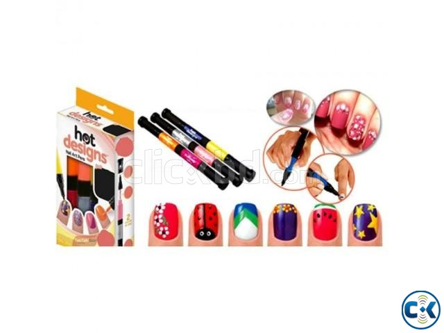 8 in 1 Nail Art Pen | ClickBD large image 0