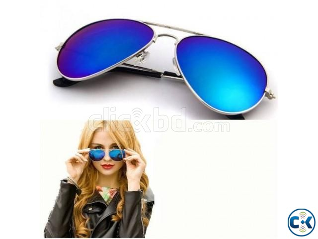 Blue Shades Sunglasses for Women | ClickBD large image 0