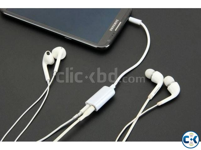 Couple Audio Cable Dual Port | ClickBD large image 0