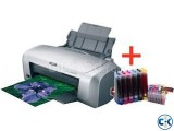 EPSON R-230 Printer With Total Sublimation Printing Solution