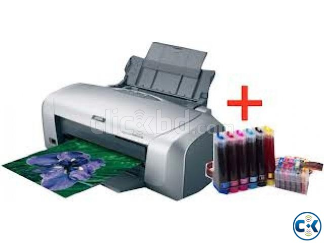 EPSON R-230 Printer With Total Sublimation Printing Solution | ClickBD large image 0
