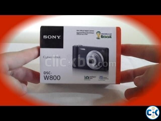 Sony DSC W800 20 Mega Pixel Digital Camera | ClickBD large image 0