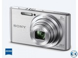 Sony W830 Digital Camera - 20.1MP CCD Sensor 8x Zoom
