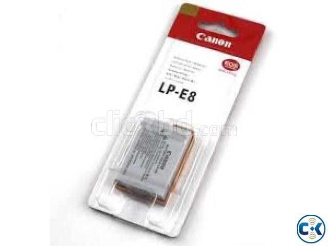 Canon DSLR Camera Battery Price in Bangladesh Canon LP-E8 | ClickBD large image 1