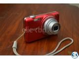Samsung st65 14.2MP Matte red Digital Camera