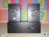 JBL cs100 surround BK.MADE IN usa