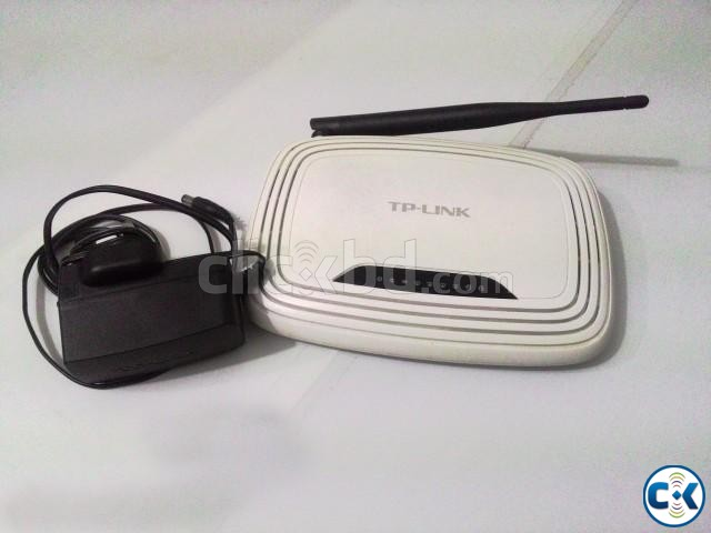 TP-Link 150 Mbps Single Antena Router | ClickBD large image 2