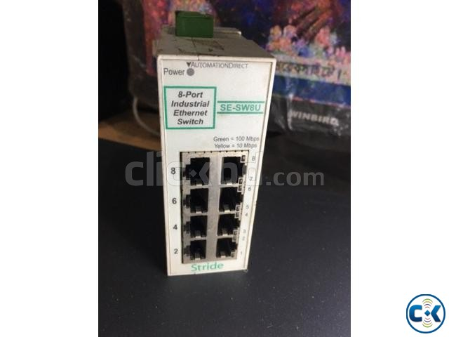 8 port industrial switch | ClickBD large image 1
