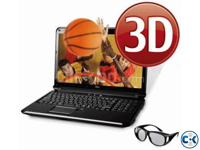 nVidia 3D GLASS FOR LAPTOP PC Monitor LED TV 2D-3D AnyMovie | ClickBD large image 1