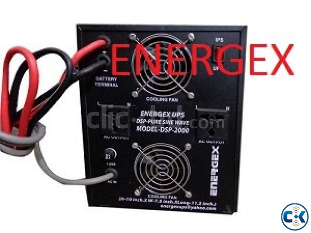 Energex Pure Sine Wave UPS IPS 5 KVA 5yrs WARRENTY With Bat | ClickBD large image 2