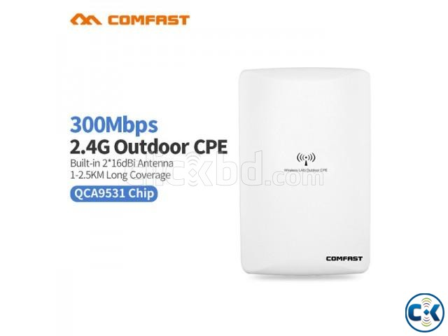 1-2 km Long Range Outdoor WiFi Router | ClickBD large image 0