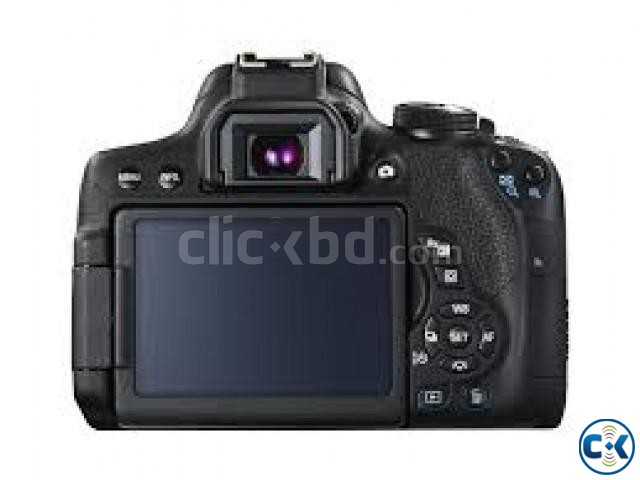 canon eos 750d digital slr camera with 18-55mm lens | ClickBD large image 1