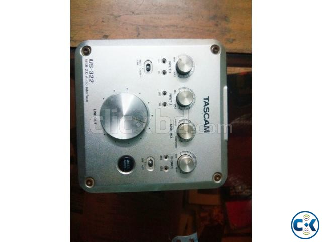 Audio Interface sound card for urgent sell | ClickBD large image 2