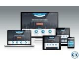 Responsive Website Design Start from tk. 7000