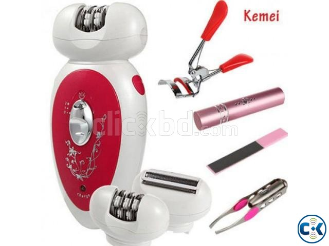 5 in 1 Kemei KM-2789 Lady Care Kit | ClickBD large image 0