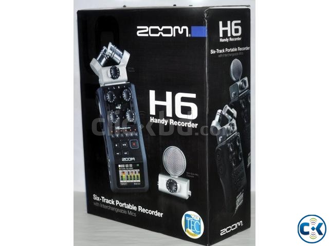 Zoom H6 Handy professional sound Recorder | ClickBD