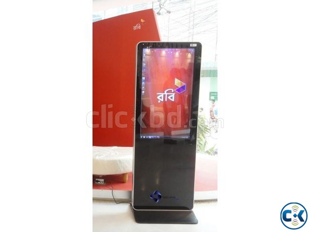 Advertisement Display Touch Kiosk PC Mobile for Rent | ClickBD large image 1