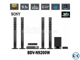 Sony N9200 Blu-Ray 3D 1200wt 2-Wireless HomeTheater