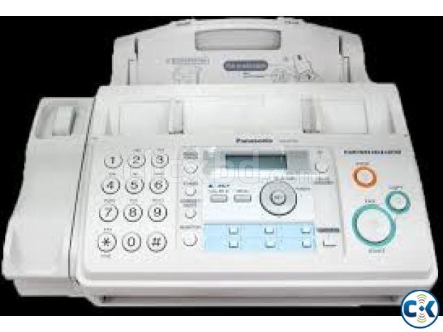 Panasonic KX-FP701CX Plain Paper Fax Machine 2-Line Display | ClickBD large image 0