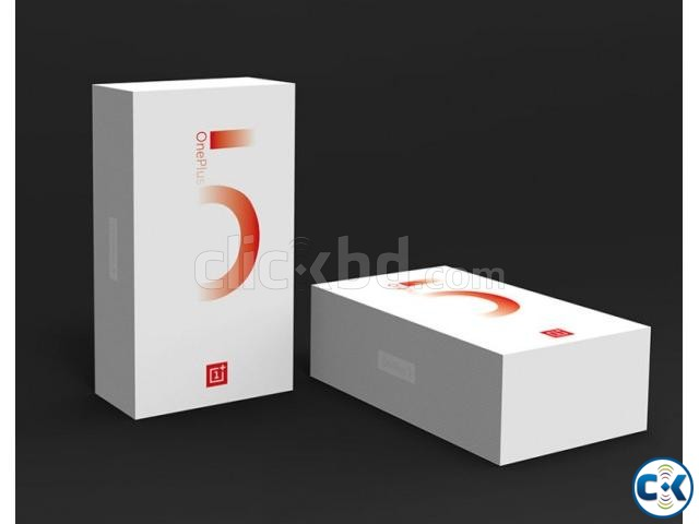 Brand New ONE PLUS 5 64GB Sealed Pack 1 Yr Warranty | ClickBD large image 1