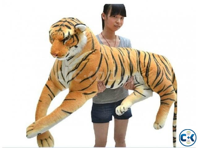 Yellow Color Tiger Doll. | ClickBD large image 0