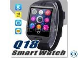Original Q18s Sim Gear supported Smart Watch intact box