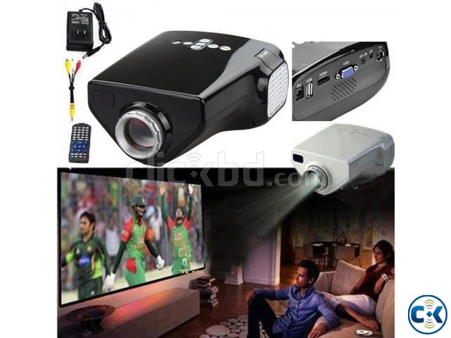 Dolphin Led TV projector | ClickBD large image 0