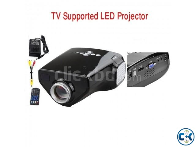 Dolphin Led TV projector | ClickBD large image 1