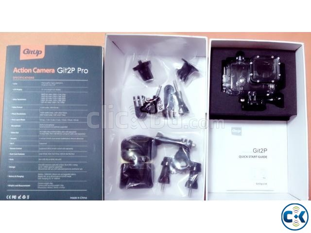 Gitup Git2P Wifi 2160P 24FPS Full HD Action Camera USA  | ClickBD large image 3