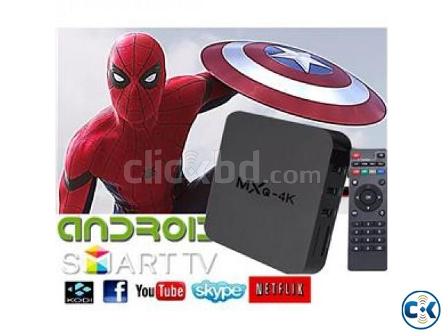 4K Android 6.0 Smart Tv Box Multimedia Player Built-in NEW | ClickBD large image 0