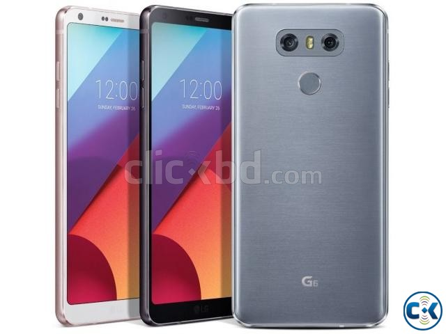 Brand New LG G6 32GB Sealed Pack With 1 Yr Warranty | ClickBD large image 0