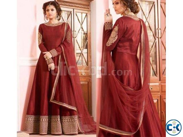 Indian Designer Embroidery Dress BNK 602853  | ClickBD large image 0