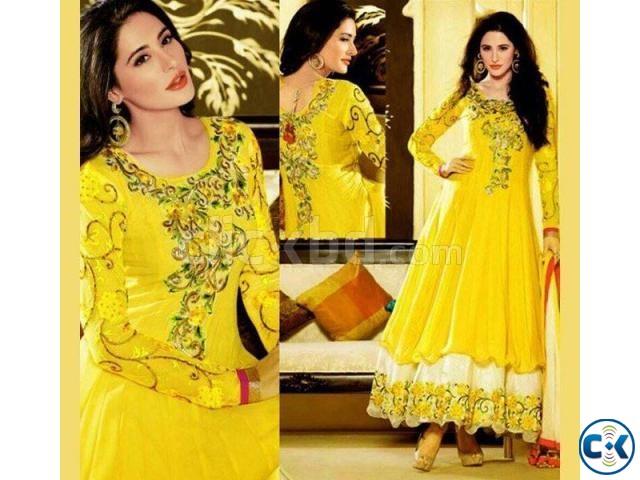 Indian Designer Embroidery Dress BNK 610  | ClickBD large image 0