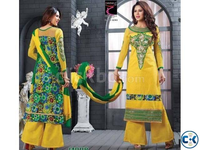 Indian Designer Embroidery Dress BNK 488  | ClickBD large image 0