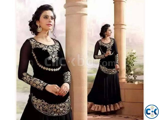 Indian Designer Embroidery Dress BNK 384  | ClickBD large image 0