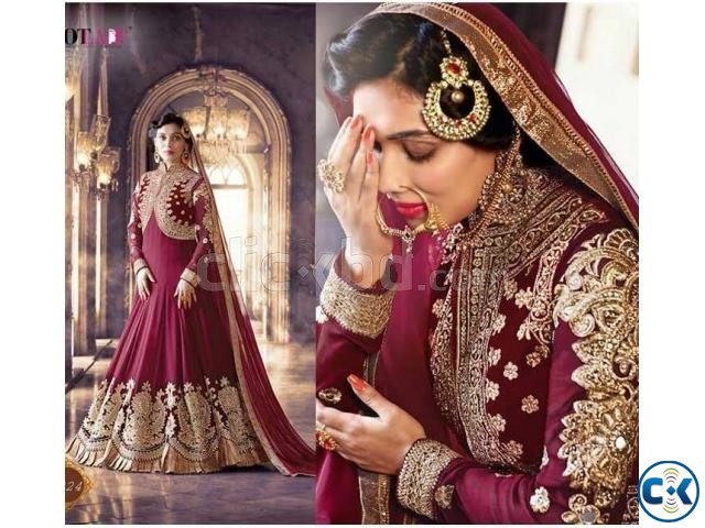 Indian Designer Embroidery Dress BNK 184  | ClickBD large image 0