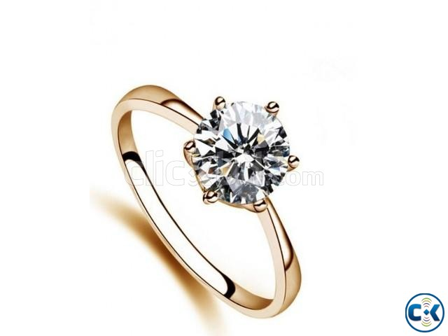 High quality Rose Gold Plated Classic rings for women | ClickBD large image 0