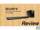Sony HT-CT380 - 300Watt Bluetooth Sound Bar With Subwoofer