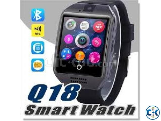 Original Q18s Sim Gear supported Smart Watch intact box | ClickBD large image 1