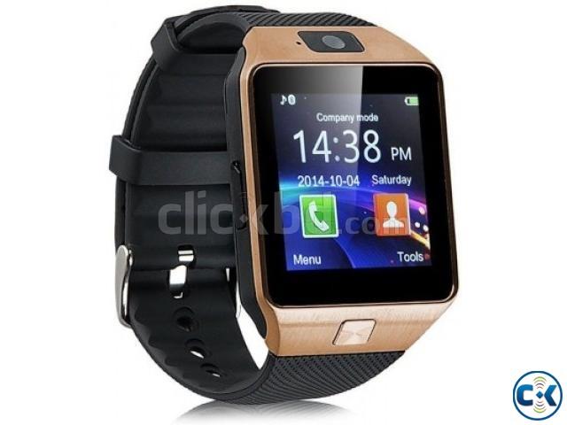 dzo9 smart watch with selfi stick | ClickBD large image 2