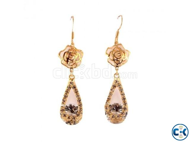 Gold Plated Earrings for Women | ClickBD large image 0