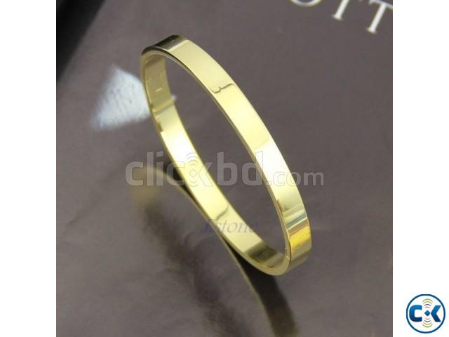 Cuff Stainless Steel Polished Bracelet | ClickBD large image 0