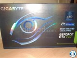 Gigabyte GTX 770 Windforce OC 2GB