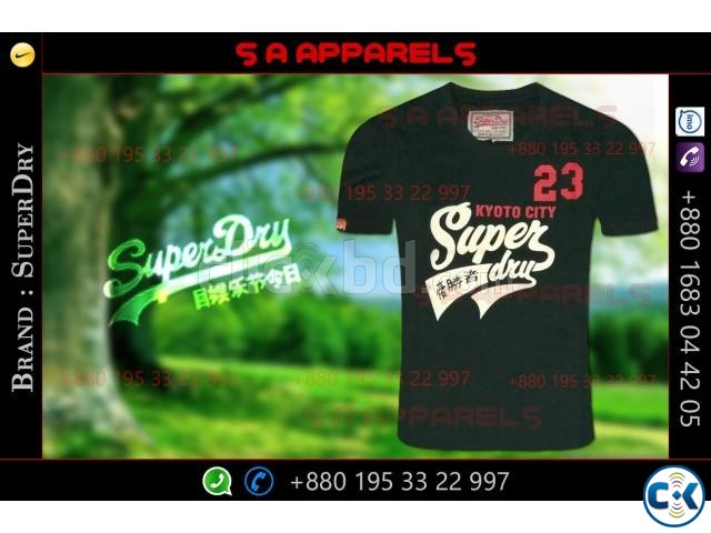 SuperDry tshirts | ClickBD large image 0