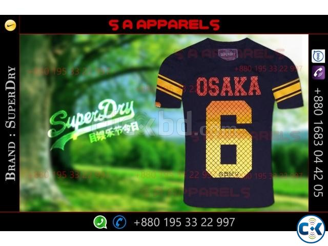 SuperDry tshirts | ClickBD large image 1
