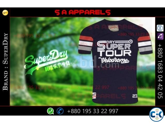 SuperDry tshirts | ClickBD large image 3