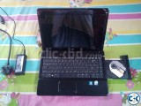HP COMPAQ ONLY 4 DAYS USED CORE 2 DUO BLACK
